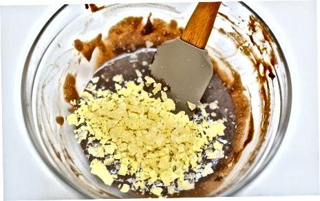 Pindakaaschocolade afgebroken snoepjes