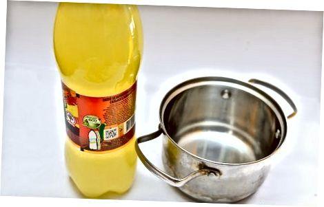 Apelsin jelatin va soda bilan zarbalar qilish