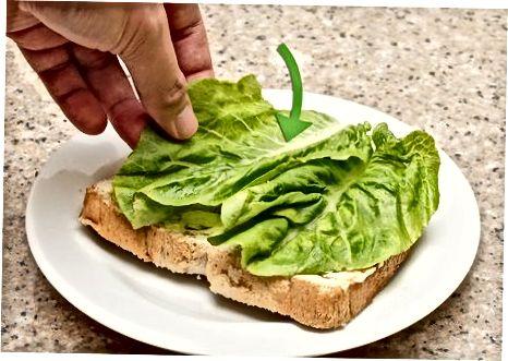 Veggie pishloq sendvichini tayyorlash