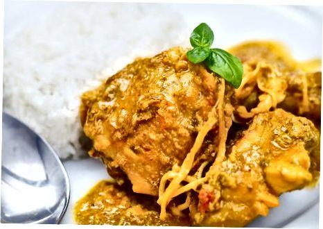Kipcurry maken in een pan