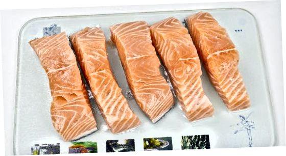 Pastrimi dhe Përzierja e Salmonit