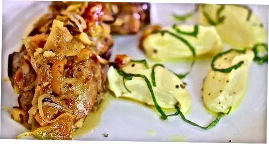 Küpsetatud kana reied Itaalia vürtsidega