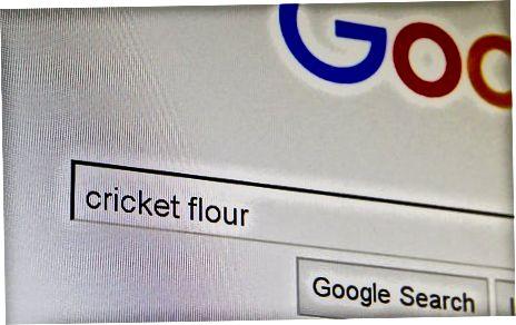 Cricket Mehl finden