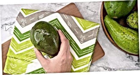 Avokadot e pjekura në frigorifer ose ngrirje