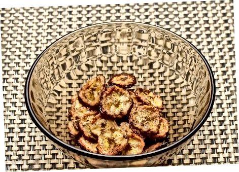 Sarimsoq va piyoz plantain chiplari
