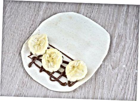 Shokoladli bananli shirin shirinliklar
