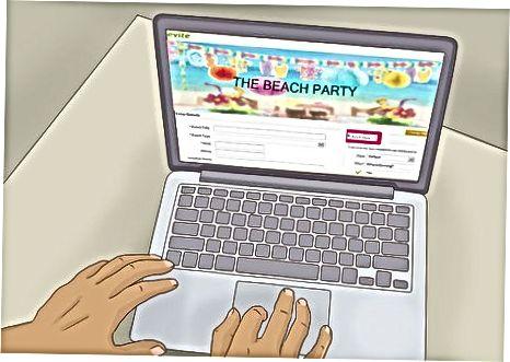 अपनी पार्टी की योजना बनाना