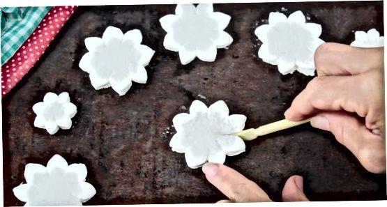 Skapa marshmallowknoppar
