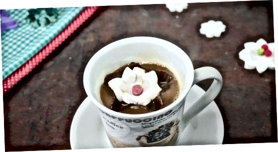 Serverar dina blommande marshmallows