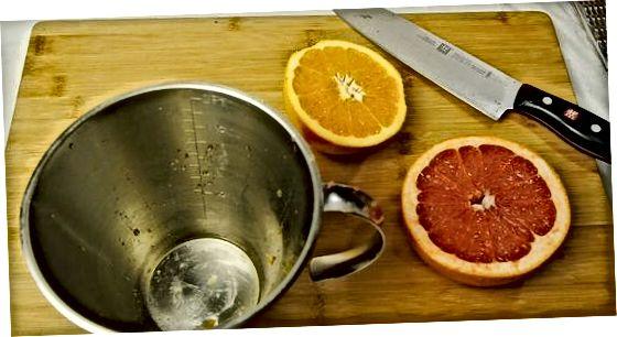 Грејпфрут, наранџа и ражњићи на жару