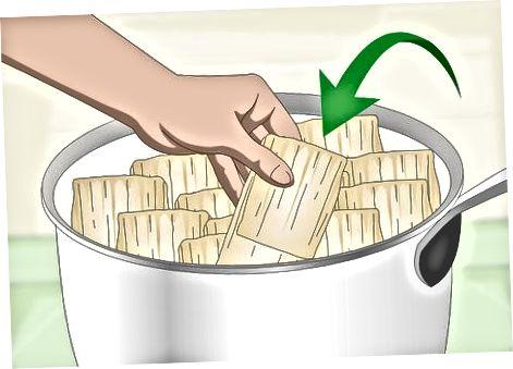 Tamales gatavošana un vārīšana
