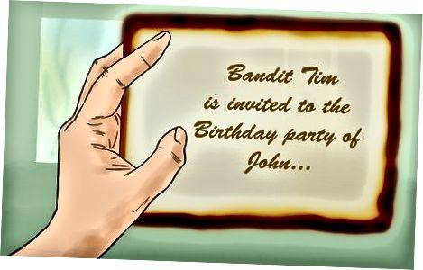 Organizuojant vakarėlį