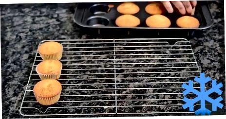 ვანილის cupcakes