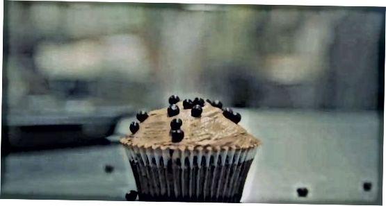 შოკოლადის cupcakes