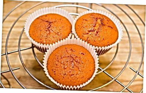 მარწყვის cupcakes