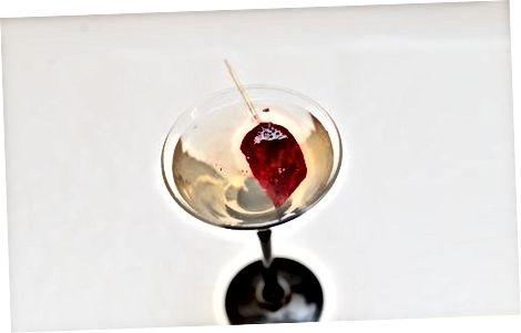 Fazendo um coração sangrando Martini