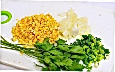 Vegetarian sukotash tayyorlash