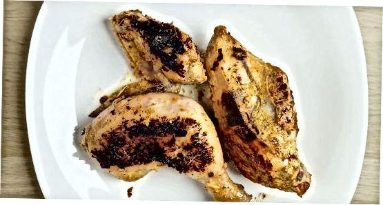 Кување пилетине Тандоори на штедњаку