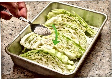 Випікання смаженої капусти