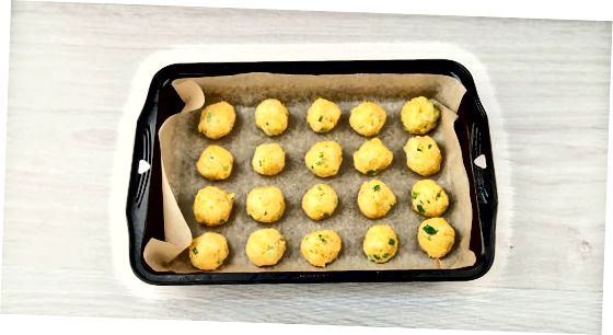 Baking Mini-Cheese Balls