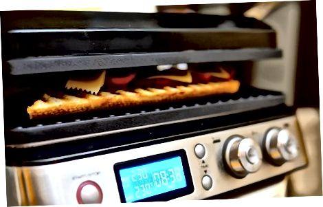 Preparando Queijo Grelhado Baguete de Tomate Aberto