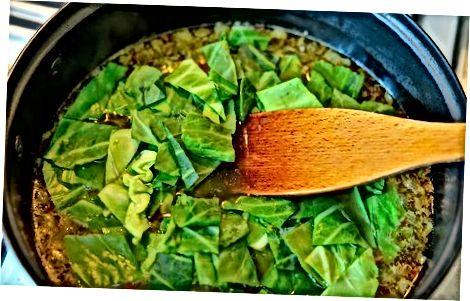 Припрема и додавање зеленог овратника