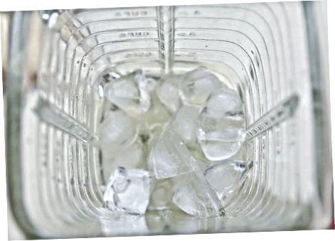 Criando sua mistura de gelo italiana