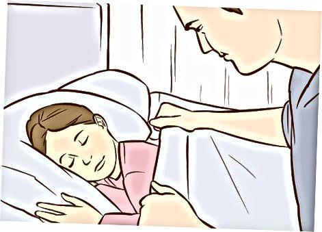 שמירה על שגרה לפני השינה