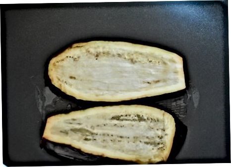 Lager lav-fett aubergine lasagne