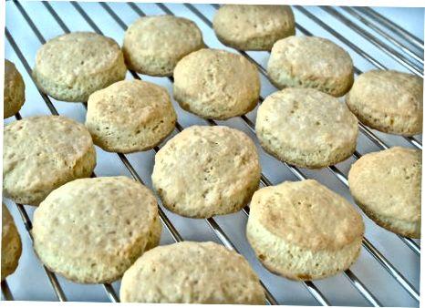 Спремање куханих кекса