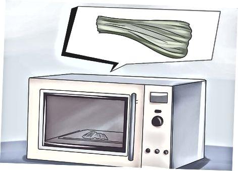 Schnittlauch im Ofen trocknen