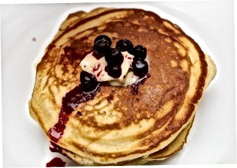 Pancakes xizmat qilish