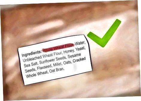 Lectura de la llista d'ingredients