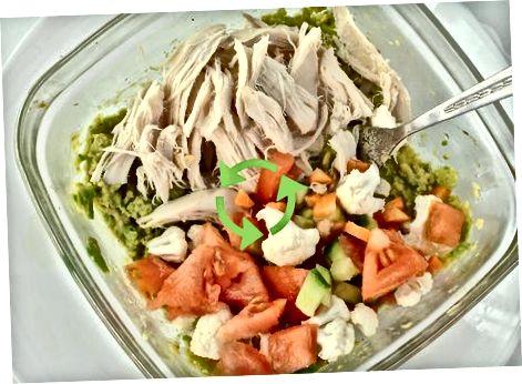 Xantal bilan avokado tovuq salatini tayyorlash