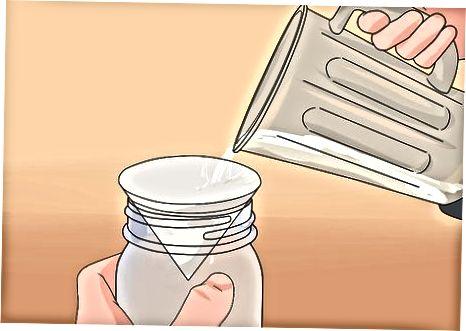 Usando o método de moinho úmido