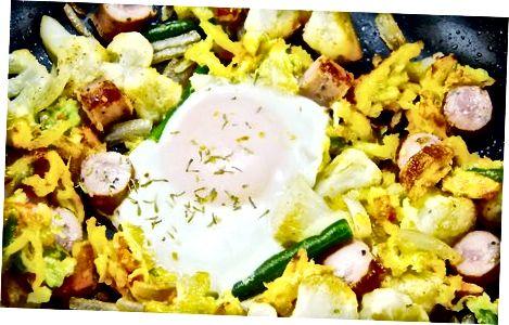 पाक कला एक नाश्ता हाथापाई