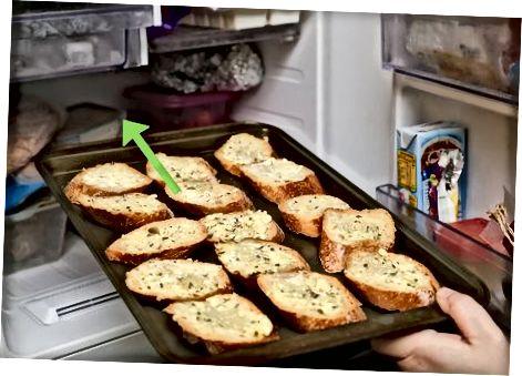 ძირითადი საყინულე ნივრის პურის დამზადება
