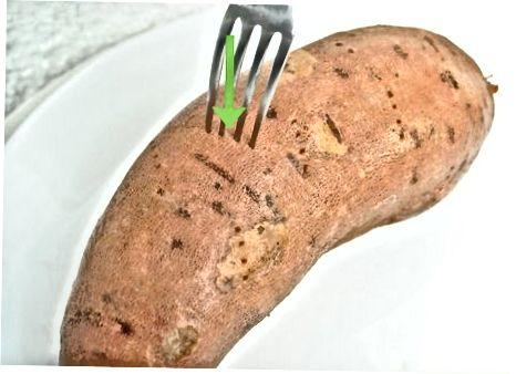 Prva metoda: Enostavni pečeni sladki krompirji