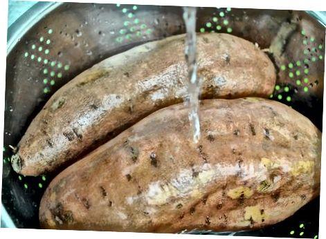 Druhá metóda: Naložené pečené sladké zemiaky