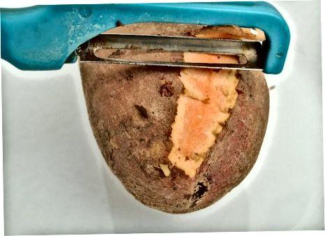 روش سوم: سیب زمینی سرخ شده سیب زمینی شیرین