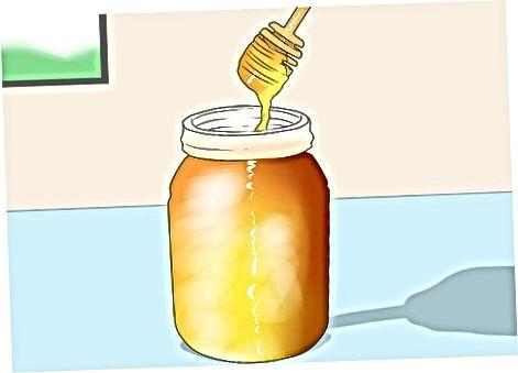 Å ta honning for å forhindre allergi