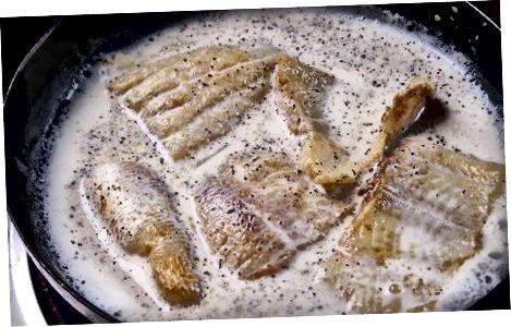 Elaboració de Haddock fumat amb salsa de mostassa