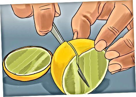 Përzgjedhja dhe prerja e limonit të ëmbël