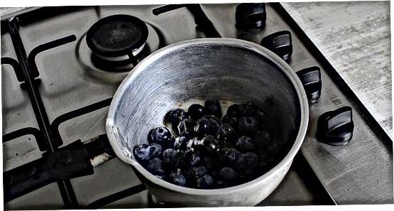Gerð Halloumi með Blueberry Jam