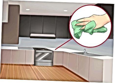 Priprava kuhinje in shrambe
