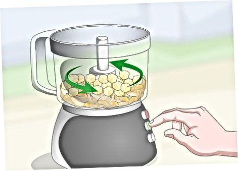 Verwendung einer Küchenmaschine