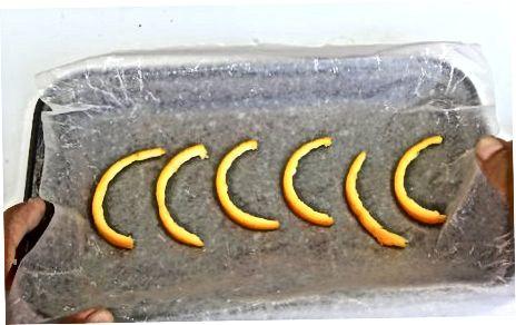 Peellarni quritish