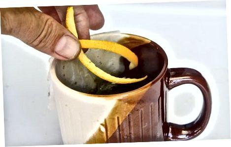 Quritilgan apelsin peellaridan foydalanish