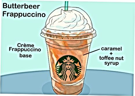 Sviestinis alus Frappuccino