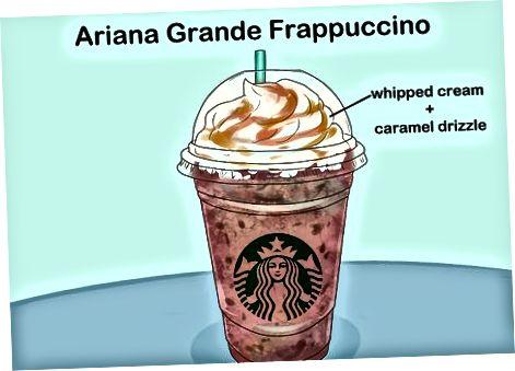 Ariana Grande Frappuccino